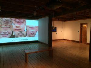 Sofian Audry, Claudette Lemay, Samuel St-Aubin, Réencodage, Centre d'exposition L'Imagier, 2014.