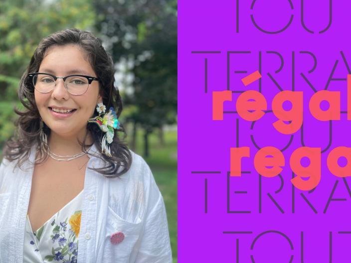 Visite guidée de « Tout-Terrain : Régale | Regal » présentée par Franchesca Hebert-Spence